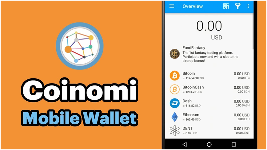 Coinomi : Mobile Wallet
